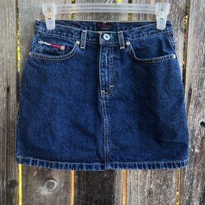 Tommy Hilfiger • Denim Hipster mini skirt